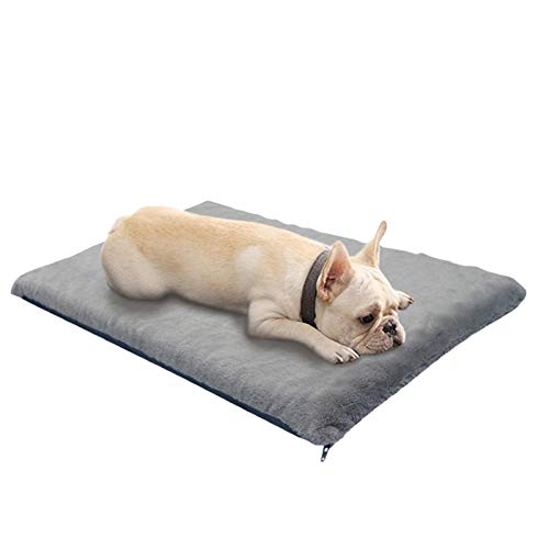 kaikki Dog & Cat Beds, Super Soft Crate Mats Pet Massage Bed Detachable Cover Nest, Pet Cat Dog Sofa Cushion resting cushion for Large Medium Kitten Dog