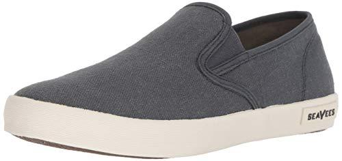 SeaVees Men's Baja Slip On Standard Casual Sneaker,Slate Navy,11
