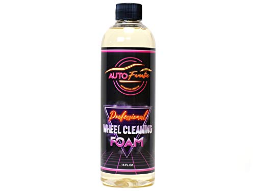 AUTO FANATIC Professional Wheel & Tire Cleaning Foam, Super Mega Concentrate Makes...