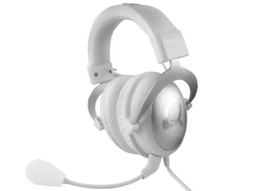 Qpad 3304 QH-90 Pro Gaming Hi-Fi Headset (98±3dB, 3,5mm Klinkenstecker) weiß