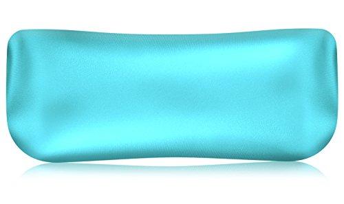 MoKo Lavendel Augenkissen, Cassia Samen & Lavendel Aromatherapie Augenmaske Yogakissen Tragbar Kissen Augenschutz für Meditation Entspannung Stressabbau Kopfschmerzen - Blau