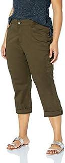 Lee womens Plus Size Flex-To-Go Relaxed Fit Cargo Capri Pant Pants