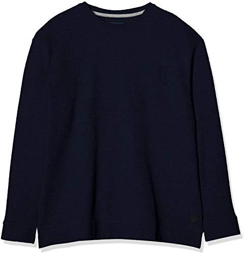 TOM TAILOR Men+ Herren Basic Sweatshirt, Blau (Blau 10668), 3XL