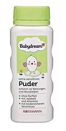 Babydream Puder ohne Parfüm, mit Jojobaöl & Allantoin, 100g