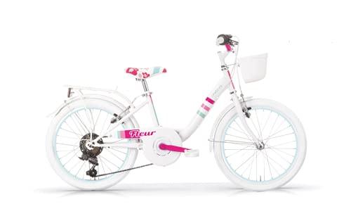 MBM Fleur 26' Mujer 6 V CTB, MBN Bici, Blanco A28, Única