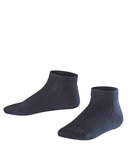 FALKE Kinder Sneakersocken Family - 94prozent Baumwolle, 1 Paar, Blau (Dark Marine 6170), Größe: 35-38