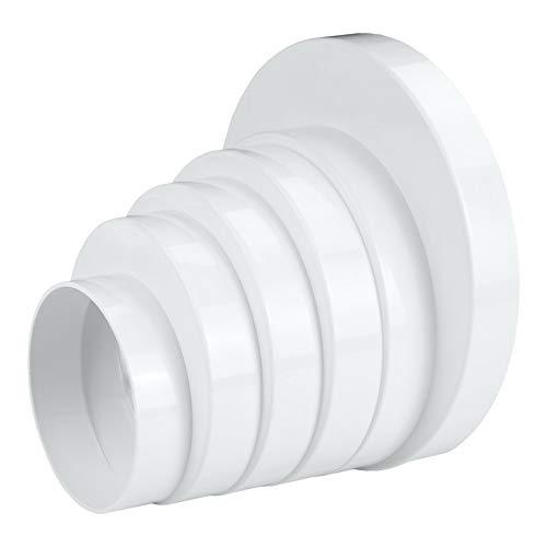 Riduttore asimmetrico di ventilazione, connettore di scarico, diametro 80/100/110/120/125/150 AirRoxy 8465