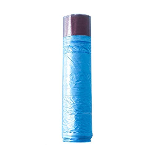 Double Nice Müllsack groß 1 Rolle Küchen Müllbeutel Zero Abfall Müll Taschen Kunststoff Müllsäcke Müllsäcke Küche Müll Tasche Erbrechen Tasche müllsack schwarz (Color : Blue)