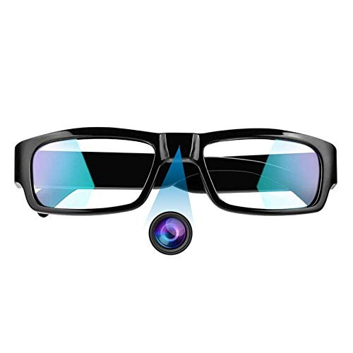 ZDMYING Glasses Camera, HD 1080P Mini Video Recording Glasses Outdoor Wearable Eye Glasses Video Recorder for Class, Interview, Meeting, Travel