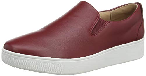 Fitflop Damen Sania Skate Sneaker Slipper, Rot (Ss20 Ruby Wine 790), 38 EU