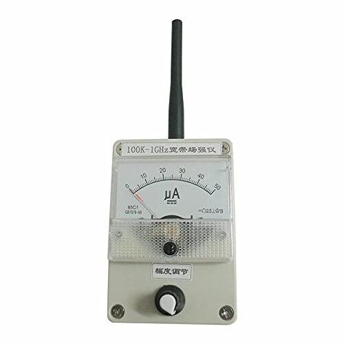 Medidor de intensidad de campo HF con antena, 100 K-1000 MHz, medidor de potencia de campo + antena de banda ancha