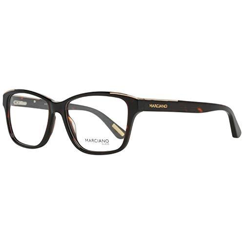 Guess GM0300 53052 by Marciano Brillengestelle GM0300 052 Rechteckig Brillengestelle 53, Braun