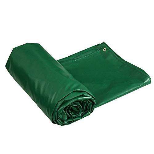 Afdekzeil, waterdicht, scheurvast, regenbestendig, met gesp van metaal, oogjes, zonnedak, groen 30x30ft-10x10m Groen