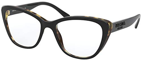 Gafas graduadas Prada PR 4 WV 3891O1 Black/Medium Havana