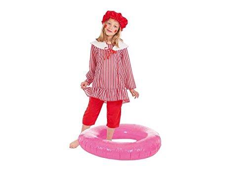 Creaciones Llopis- Disfraz Infantil bañista niña, Multicol
