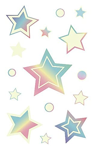 Night Luminous Tattoo New Free Shipping Butterfly Starry Fa Universe For Kids Star Online limited product