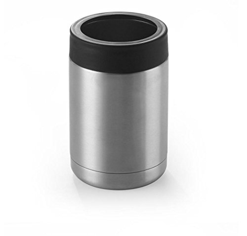 HaoYiShang - Vaso de acero inoxidable con aislamiento al vacío para enfriar bebidas frías, latas blandas