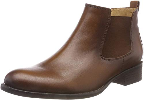 Gabor Shoes Damen Fashion Chelsea Boots, Braun (Sattel (Effekt) 22), 41 EU