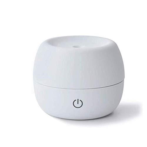 NA Humidificador, Escritorio del USB silenciosa Superficie Niebla Aire Mini Hidratante Reducción de Ruido Jane Amor humidificador Personal Classic Cara Fácil (Color : White)