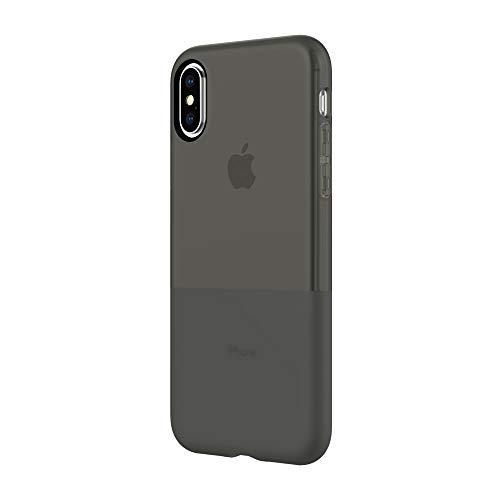 Incipio NGP Schutzhülle für Apple iPhone Xs / X - schwarz [Stoßfest I Reißfest I Flexibel I Transparent I Qi kompatibel] - IPH-1779-BLK