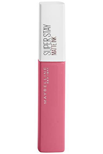 Maybelline New York Super Stay Matte Ink Lippenstift - flüssiger Lippenstift, bis zu 16 Stunden Halt, intensive & langanhaltende Farben, mattes Finish, Nr. 125 Inspirer, 5 ml