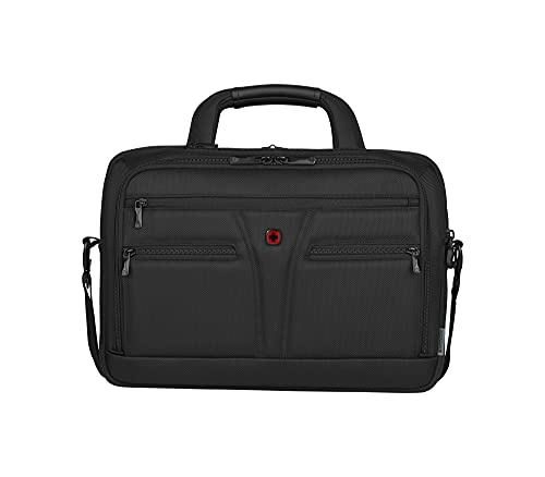 Wenger/SwissGear Wenger BC Star 35,56cm 14zoll/40,64cm 16zoll Expandable Laptop Brief W/Tablet Pocket Black, Unisex-Adult, Nero, One Size