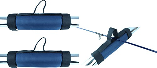 Storfisk fishing & more Reling Klettband Universal Passend an Allen gängigen Relingen oder Geländern Set, Stück:2 Stück