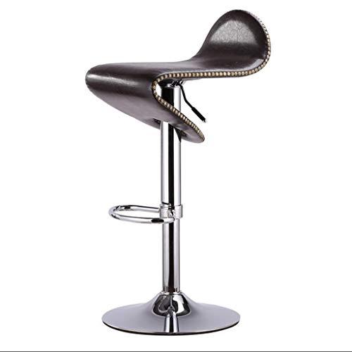 HUOQILIN heffen en draaien van hoge stoel bar reception boekkop draaistoel mode metaal barkruk