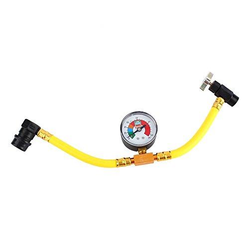 Kfz Klimaanlage Kältemittel nachfüllen Measuring Kit Schlauchanzeige für R134A