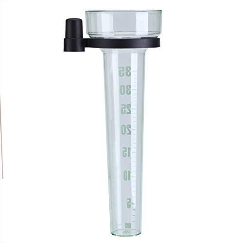 Vobor Regenmesser - Garten-Regenmesser, 35 Mm Fassungsvermögen Regenmesser Rohrgenaues Messwerkzeug for Den Garten Im Freien