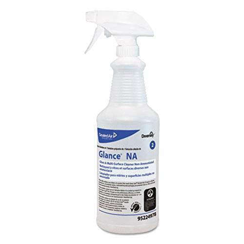 Diversey+Glance+NA+Spray+Bottle%2c+32+oz%2c+Clear%2c+12%2fCarton+(DVOD95224978)