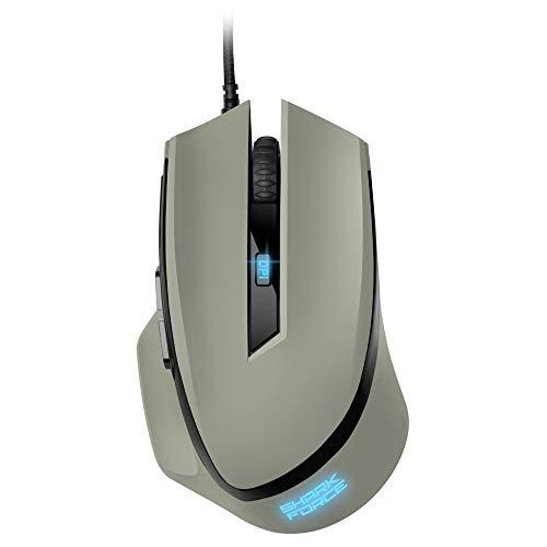 Sharkoon Shark Force II grau, Gaming Maus, 4044951030453