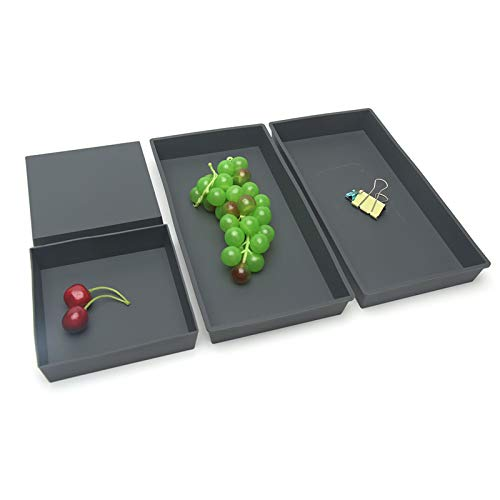 Baking Pans, Non-Stick Rectangular Pizza/Cookie Pan for Baking in Oven Sheet Cookaholic 4 Piece