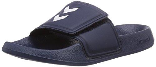 hummel Unisex Sport Slipper VC Dusch-& Badeschuhe, Dress Blue/White, 37 EU