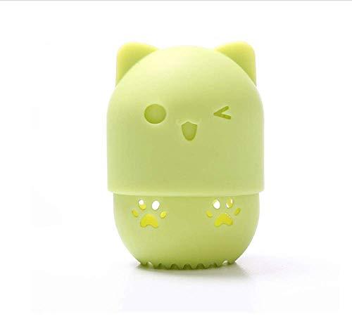 KUSAWE Éponge de maquillage 2PCS Sponge Makeup Egg Drying Case Portable Soft Silicone Cosmetic Blender Sponge Box Holder R