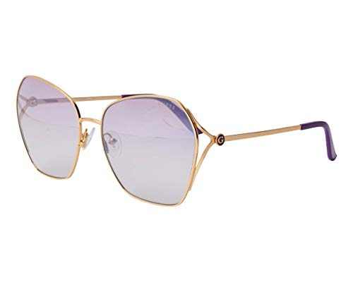 Guess occhiali da sole GU7687 32Z occhiali Donna colore Oro lente viola taglia 62 mm