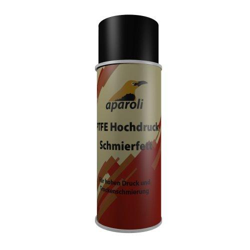 Aparoli 840851 PTFE Hochdruck - Schmierfett - Spray, 400 ml, für hohen Druck und Trockenschmierung