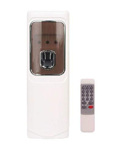 Mando a distancia Aire Ambientador automático LED aerosol pegamento dispensador montado en la pared Hotel aerosol 300ml dispensador de perfume para el hogar