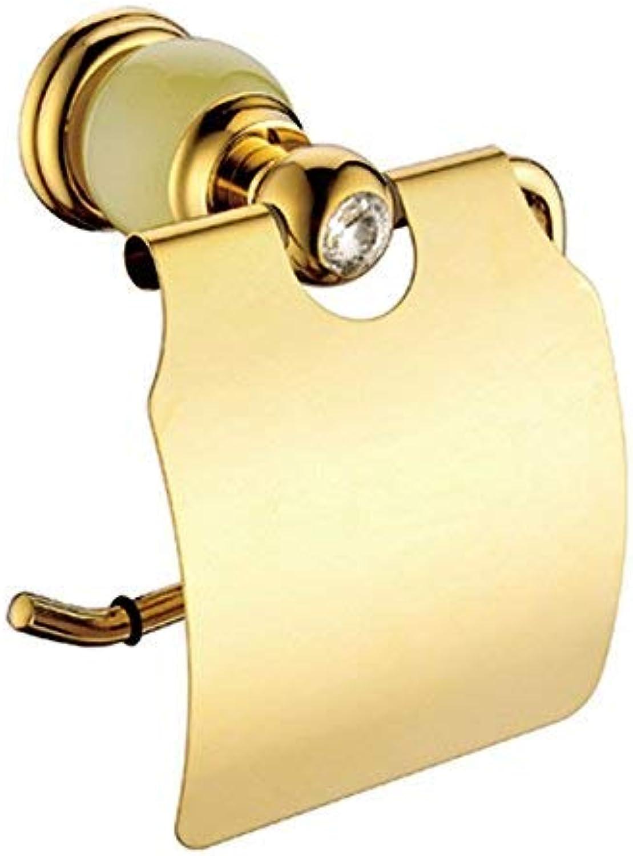Goldbadetuchrahmen voller Kupfer Streifen Diamant runde Basis Titan Serie handtuchhalter, a (Farbe   I)