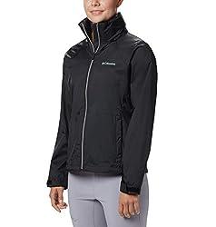 commercial Columbia Switchback III Adjustable Rain Jacket Black Small rain jackets for running