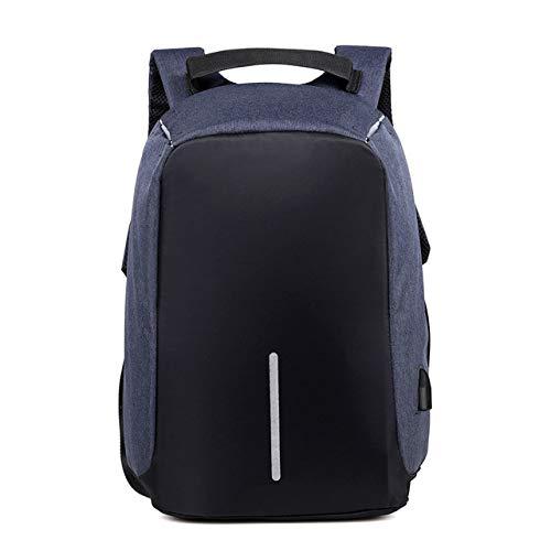 Anti-Theft Bag Men's Laptop Rucksack Travel Backpack Large Capacity Business USB Charging College Student Schoolbag Shoulder Bag