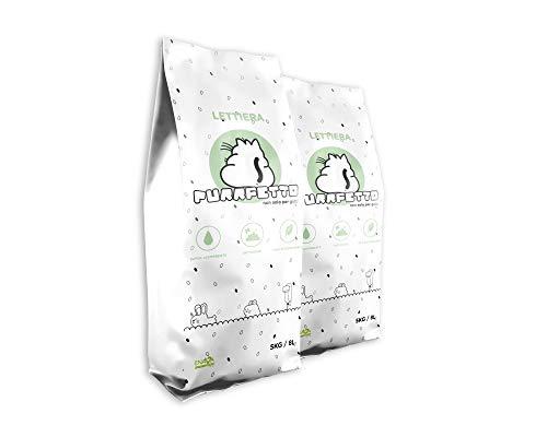 Purrfetto Litière pour Chat Pellet - Biodégradable 100% WC...