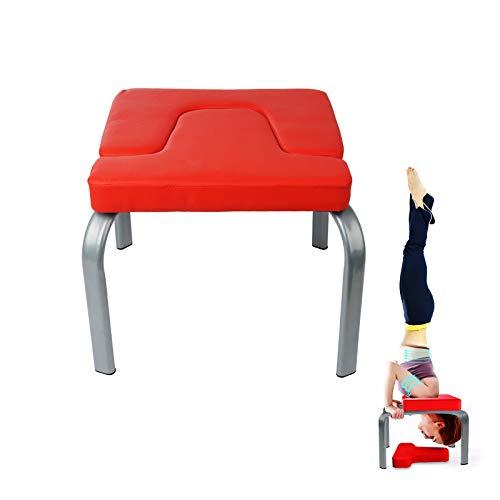 Shoze Yoga Headstand Bench Inversion Stool Yoga Inversion Training Bench Comfortable Yoga...