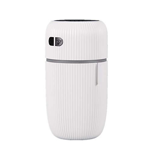 LG&S Humidificador De Vapor Frío Multifuncional Máquina De Aromaterapia con Atmósfera De 7 Colores Luz Nocturna Y Ruido Blanco Ayudan A Dormir Cumpleaños,Blanco