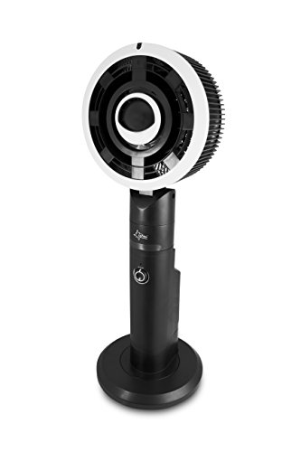 SUNTEC Ventilator mit Wasserkühlung inkl. Fernbedienung Monsun Vario | Wasser Sprühnebel | Luftbefeuchter Leise mit Timer-Funktion | Standventilator | Perfekter Raumbefeuchter für Schlafzimmer, Büro