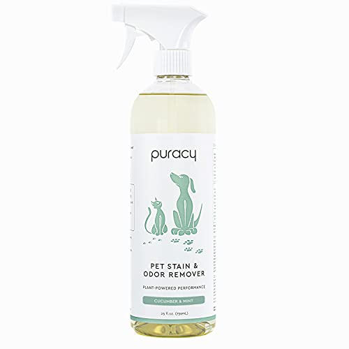 Puracy Platinum Pet Urine Eliminator, Professional Strength Odor & Stain Remover, Natural Enzyme Cleaner for Dog & Cat Smells on Carpets and Rugs