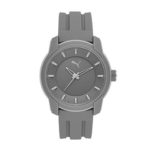 PUMA Herren analog Quarz Uhr mit Silikon Armband P6006