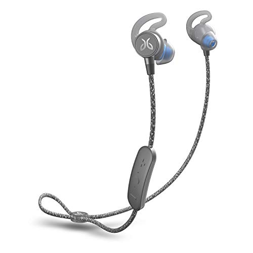 Jaybird Tarah Pro Wireless Bluetooth in-Ear Headphones with Microphone, for Sports, Running and Fitness, Rechargeable, 14 Hour Battery Life, Smartphone/Tablet/iOS/Android -Titanium Glacier
