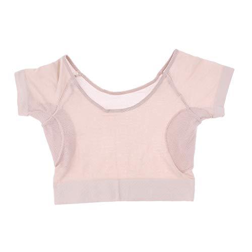 sharprepublic Underwear Ascella Sweat Pads Shield Underwear Cami - Maglietta Intima Da Donna Con Scudo Antisudore