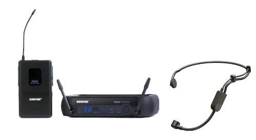 Shure PGXD14/PGA31 PGX-D Digital Wireless Microphone System with PGA31 Headset Mic
